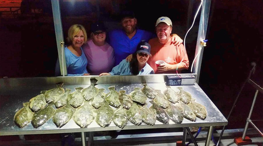 Flounder Gigging has been a lot of fun!