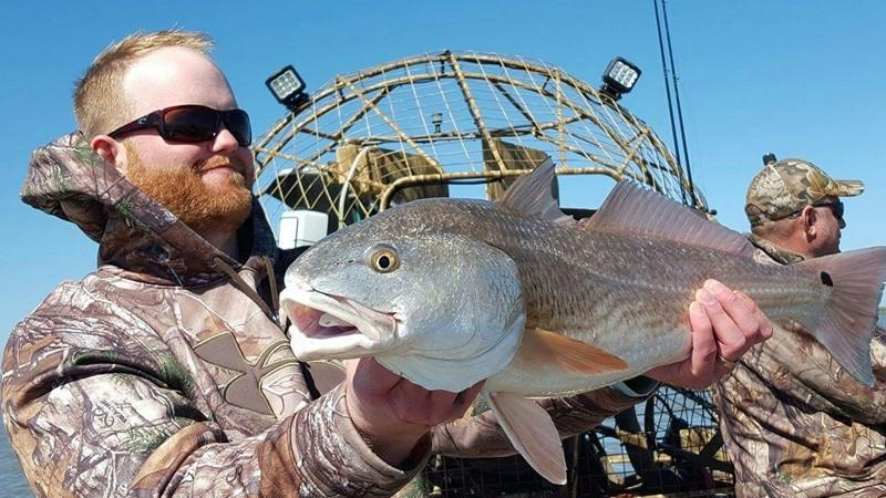 Airboat Redfish Guides